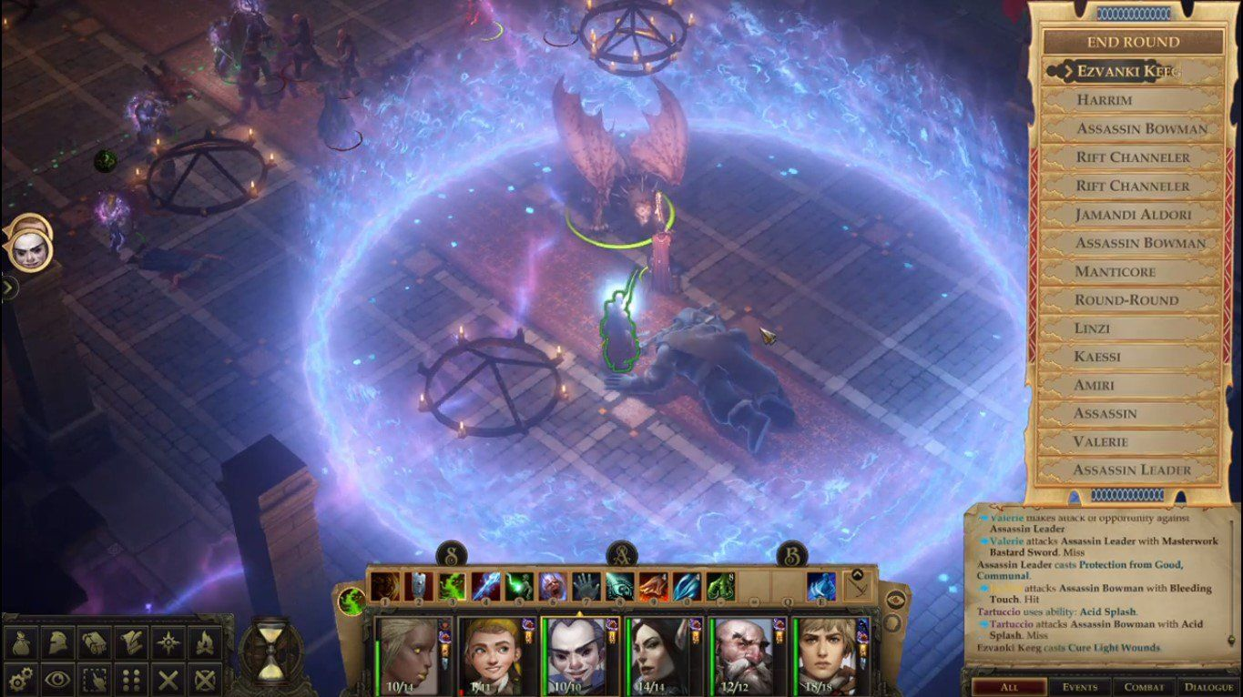 Turn Based Mod For Rpg Game Pathfinder Kingmaker Now Available With Other Gameplay Enhancing Content Owlcatgame Indie Game Development Rpg Games Kitty Games