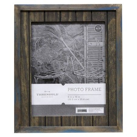 "8""x10"" Frame Blue Grey - Threshold™ : Target"