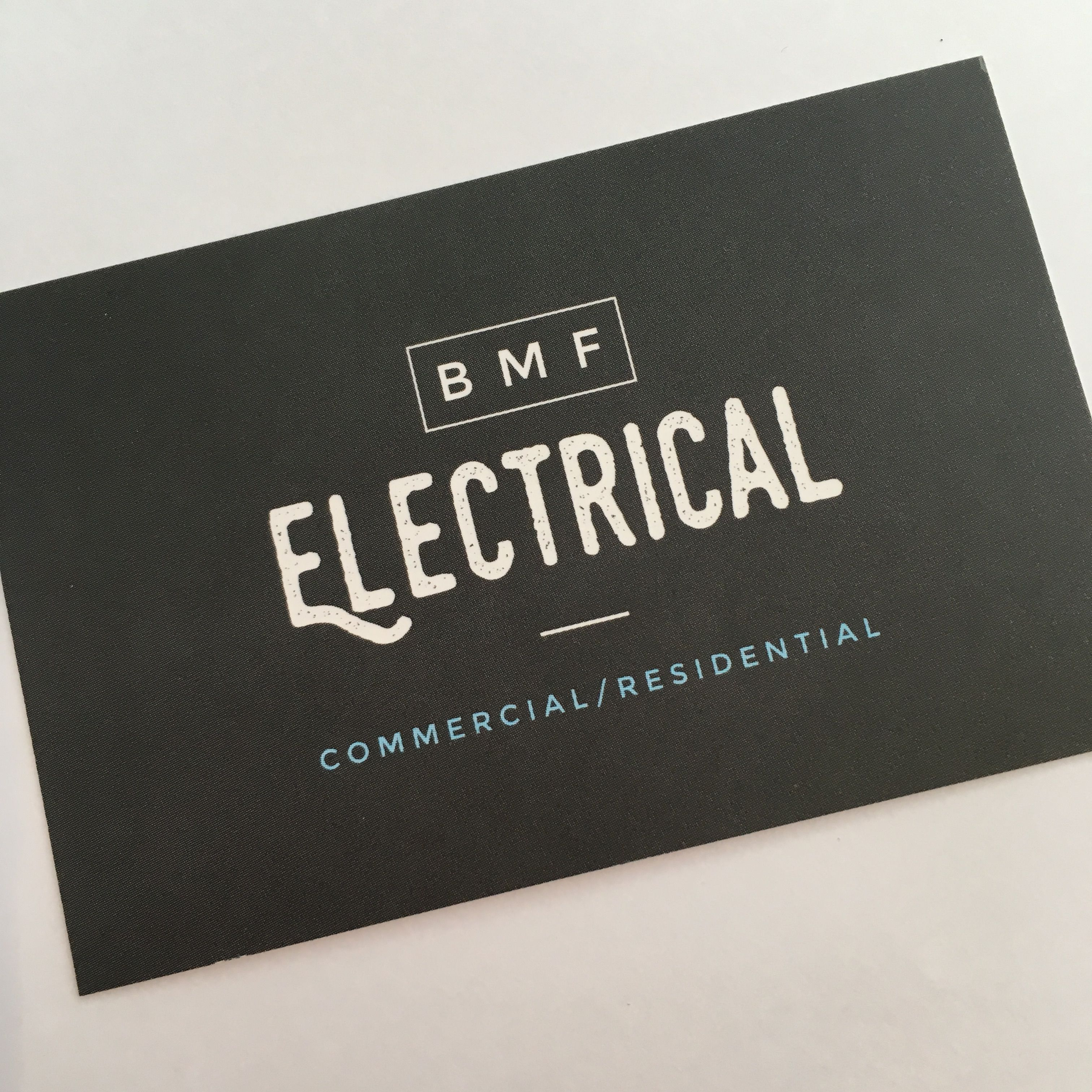 Recent business card and logo design for electrician based in Stock ...