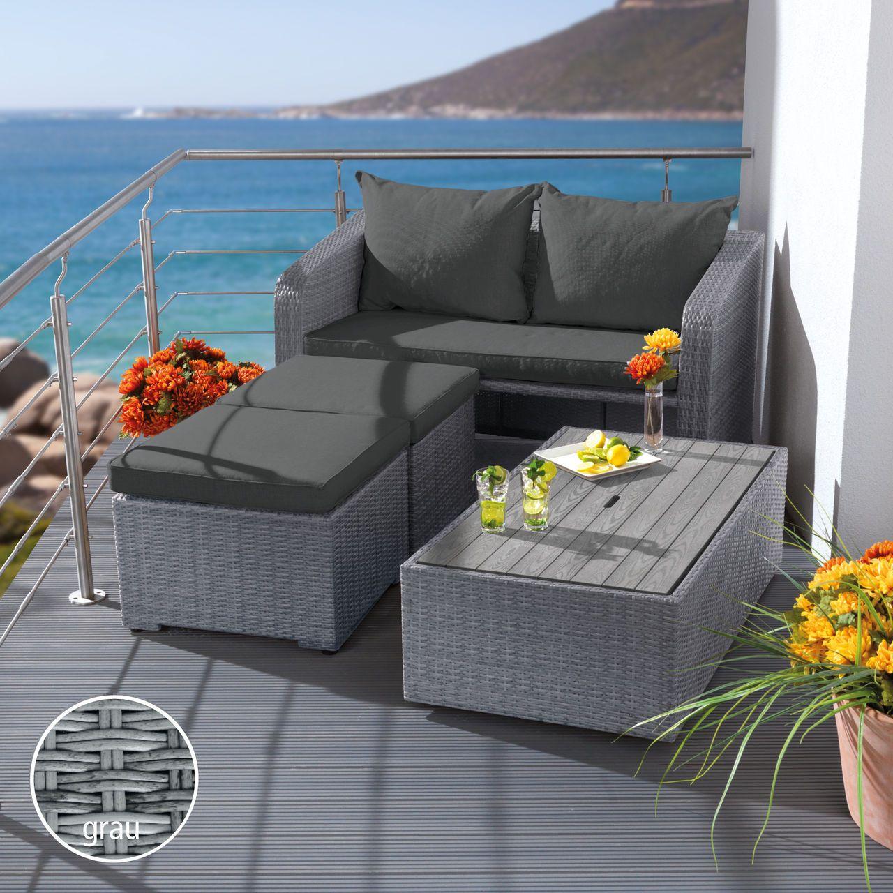 Kleine Loungemöbel Balkon | Glatz Balkonschirm Alu-smart ...