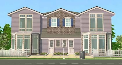Mod The Sims The Tahoma Townhouses Townhouse Roof Trim Cosy Night In