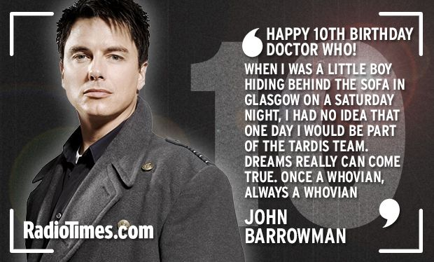 Happy birthday to who! the doctors companions stars and writers
