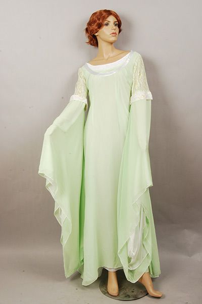 Lord Of The Rings Arwen Light Green Dress Light Green Dress Green Dress Dresses