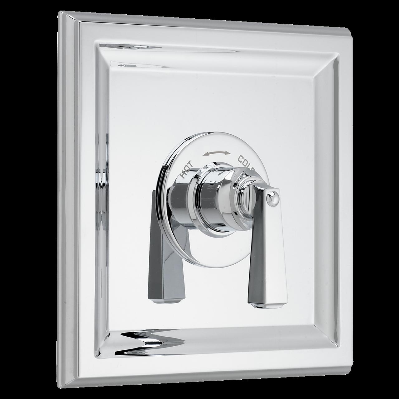 153 Shower Faucets Town Square Central Thermostatic Valve Trim Kit Polished Chrome Shower Faucet Shower Faucets Faucet