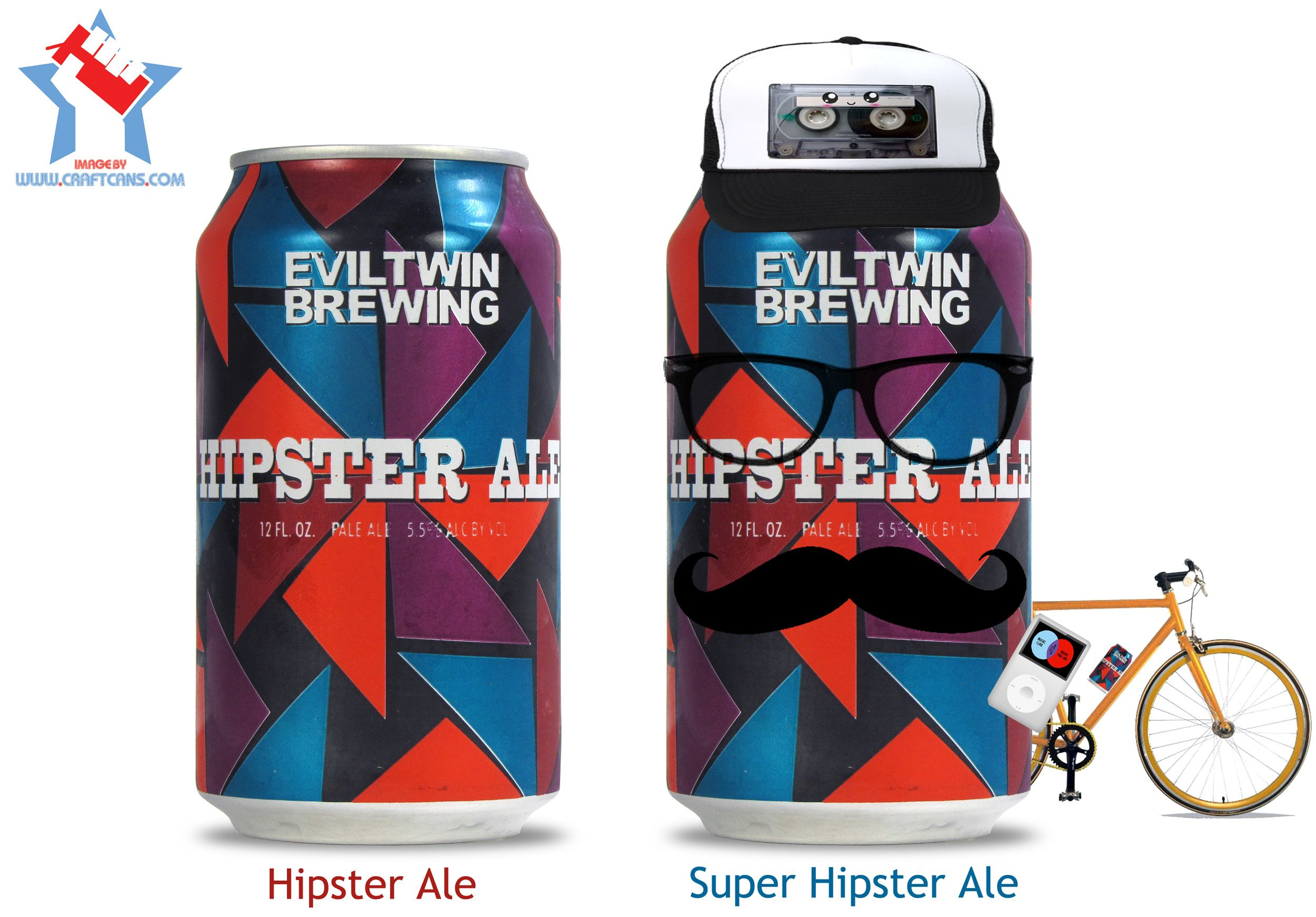 Hipster Ale and Super Hipster Ale