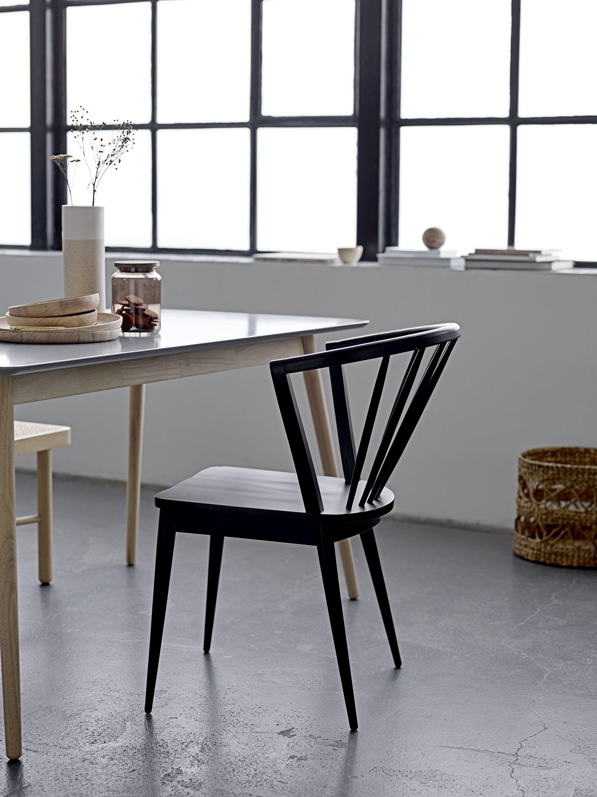 Laura Dining Chair In Black U003c3 Design By Bloomingville