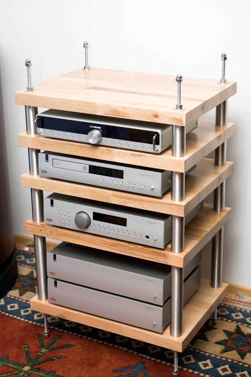 Mein Rack Hifi Forum Stereo Furniture Pinterest Meuble Tv  # Meuble Tv Fait Soi Meme
