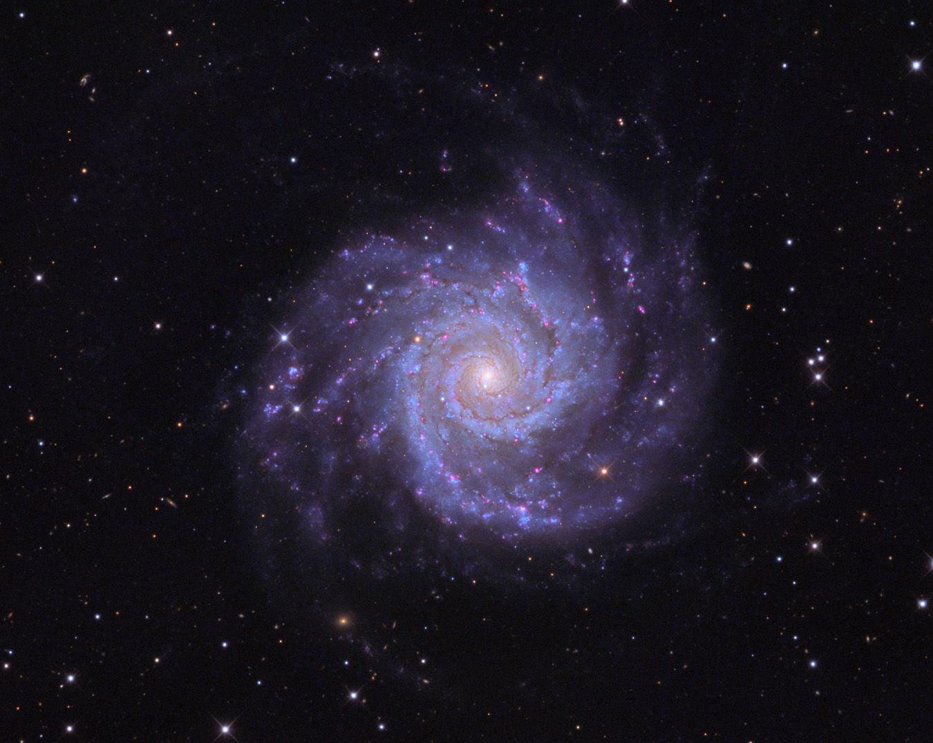 The Stunning Beauty Of The Perfect Spiral Galaxy M74