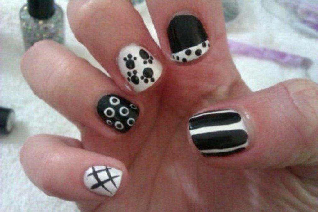 Easy Halloween Nail Art For Short Nails Halloween Nails