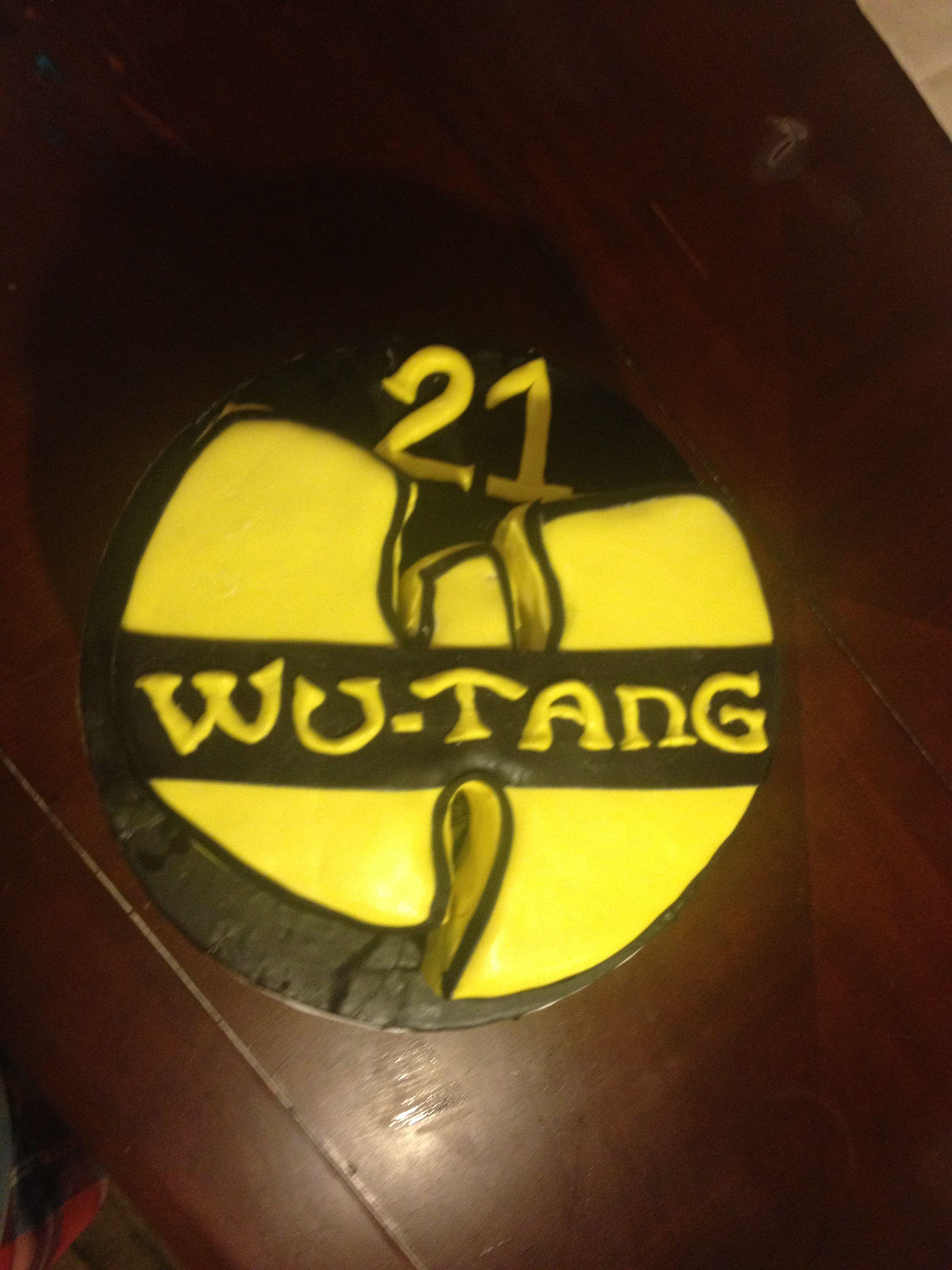 Wu tang clan birthday cake itscakez pinterest wu tang and wu wu tang clan birthday cake pooptronica