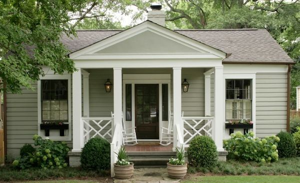 Creative Ways To Bring Life To Your Small Porch Cottage Exterior