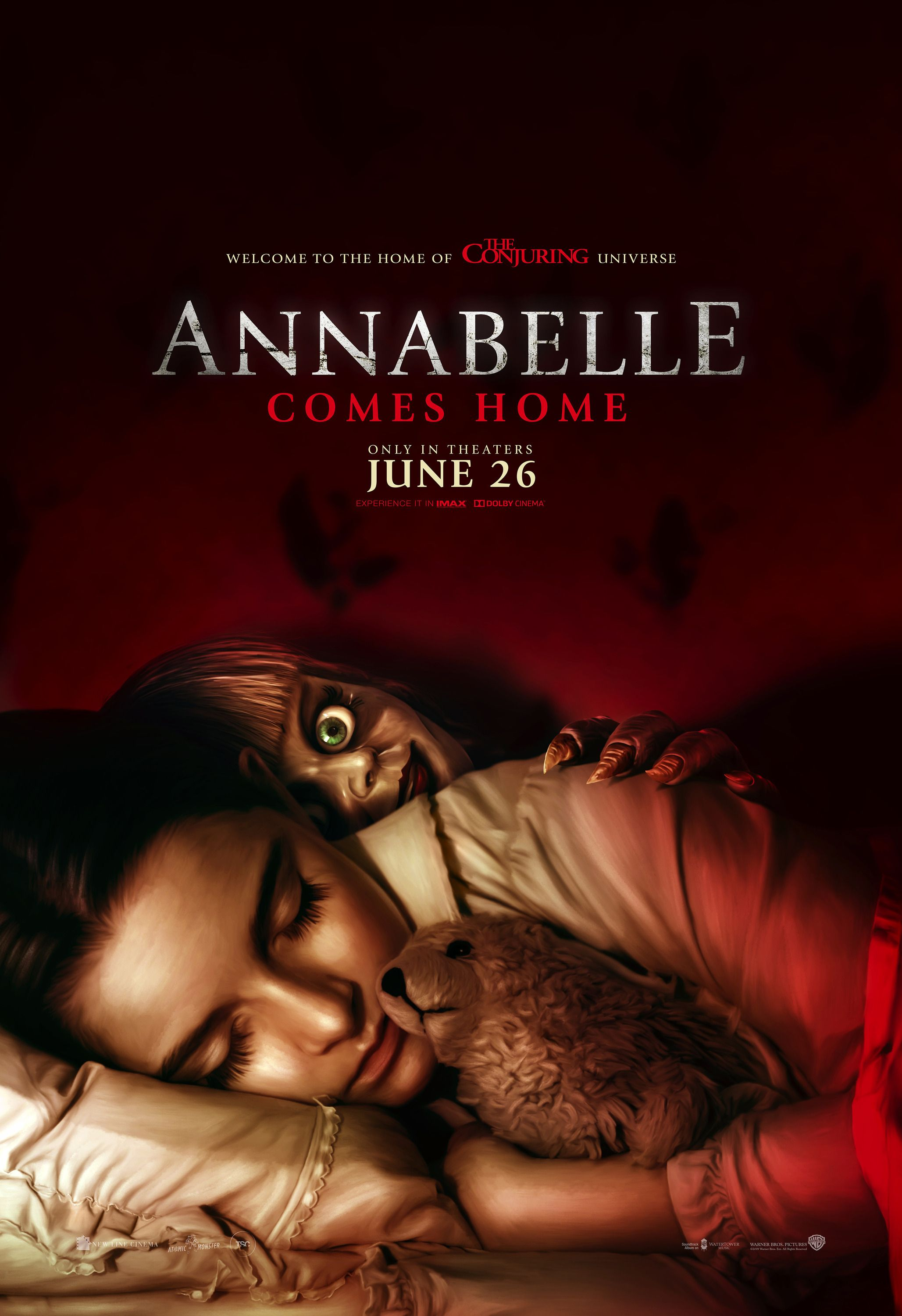 Annabelle Comes Home Horror Movie Posters Horror Movies Download Movies
