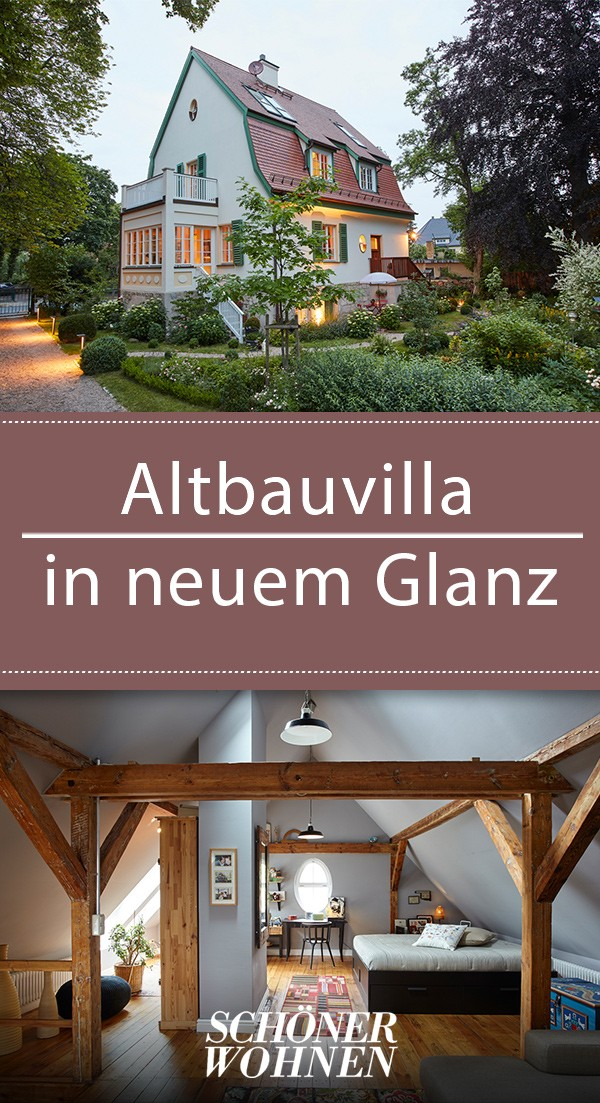 Photo of Old building villa in new splendor – modernly renovated