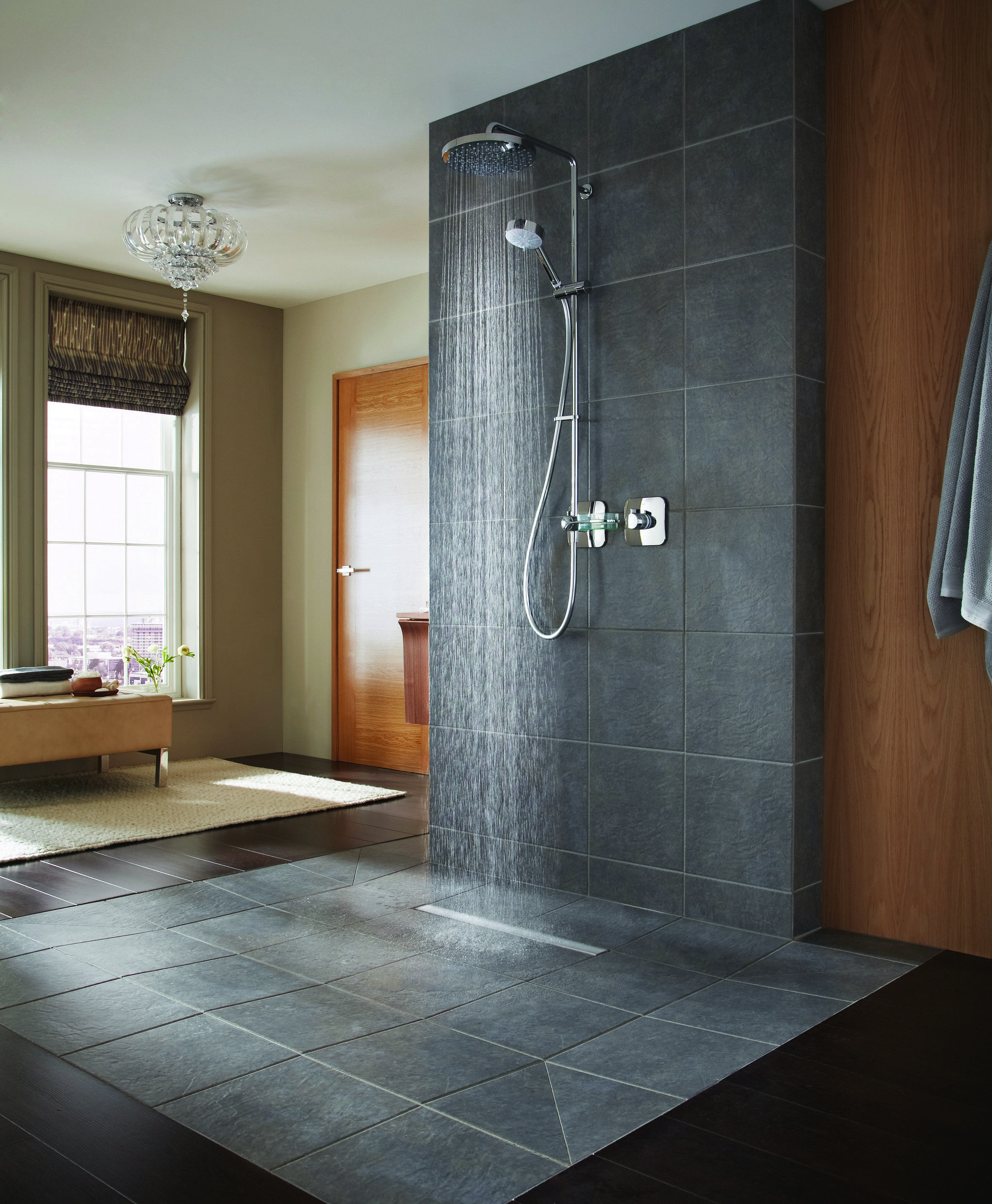 Mira Adept BRD (built in valve with Rigid riser) Thermostatic Mixer ...