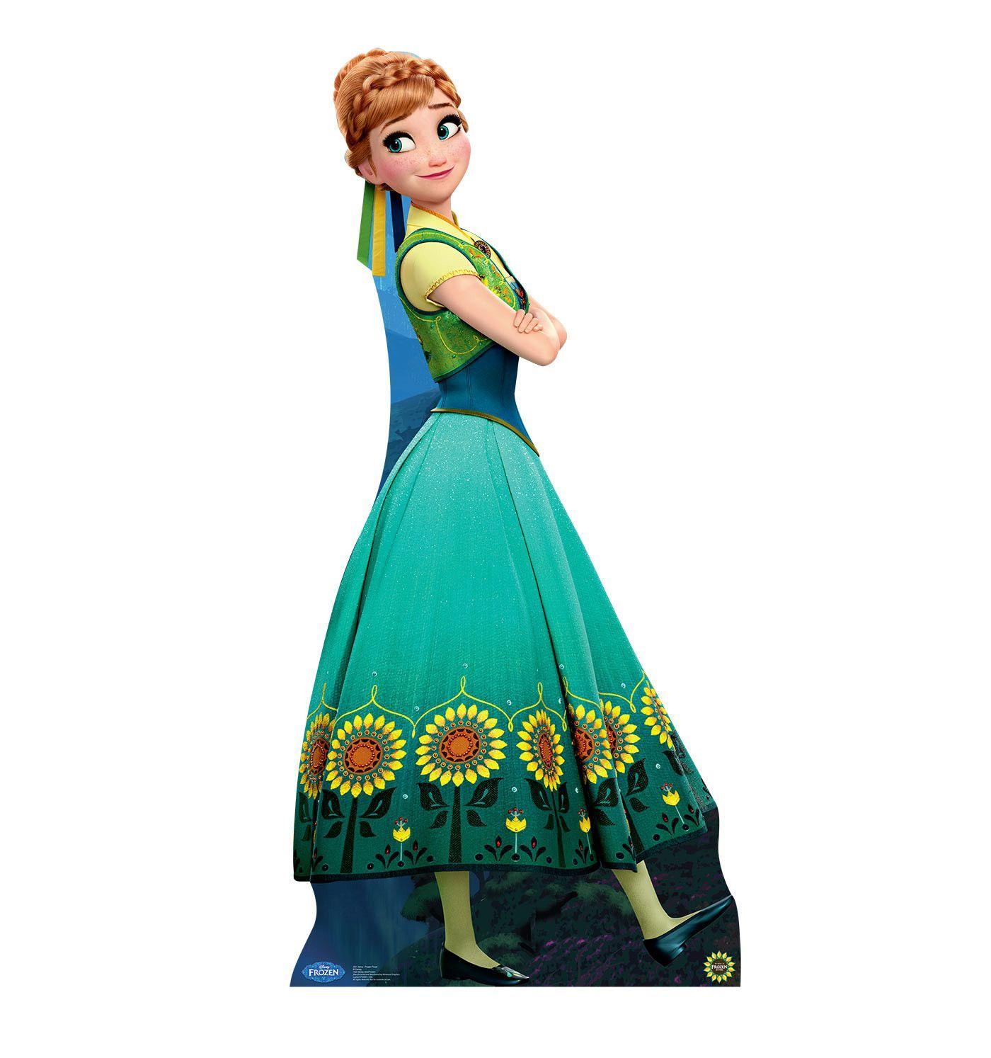 Disney Frozen Fever Anna Life Size Cardboard Cutout Die Eisk Nigin