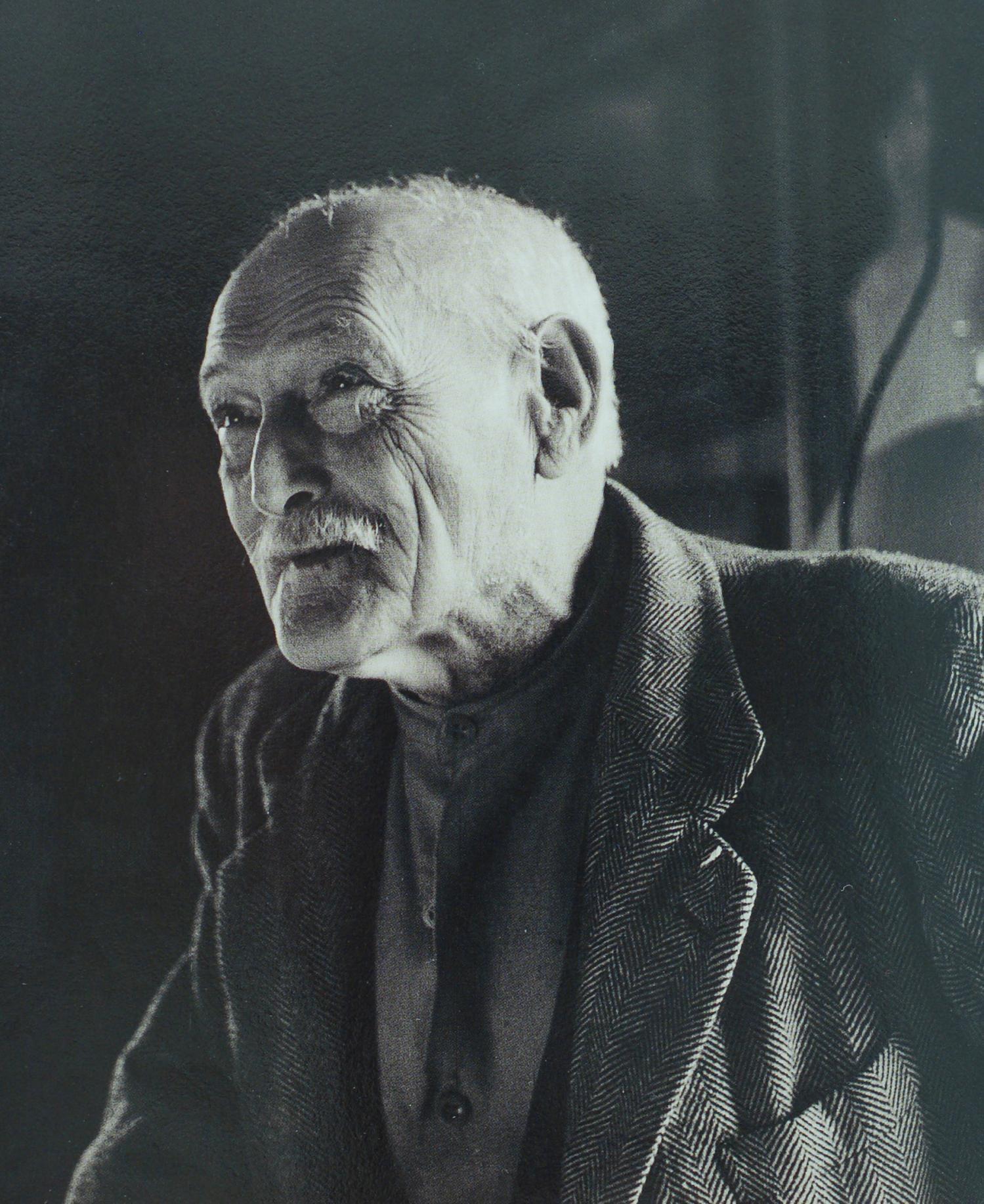 Adolf Dietrich, 78jährig im Jahr 1955
