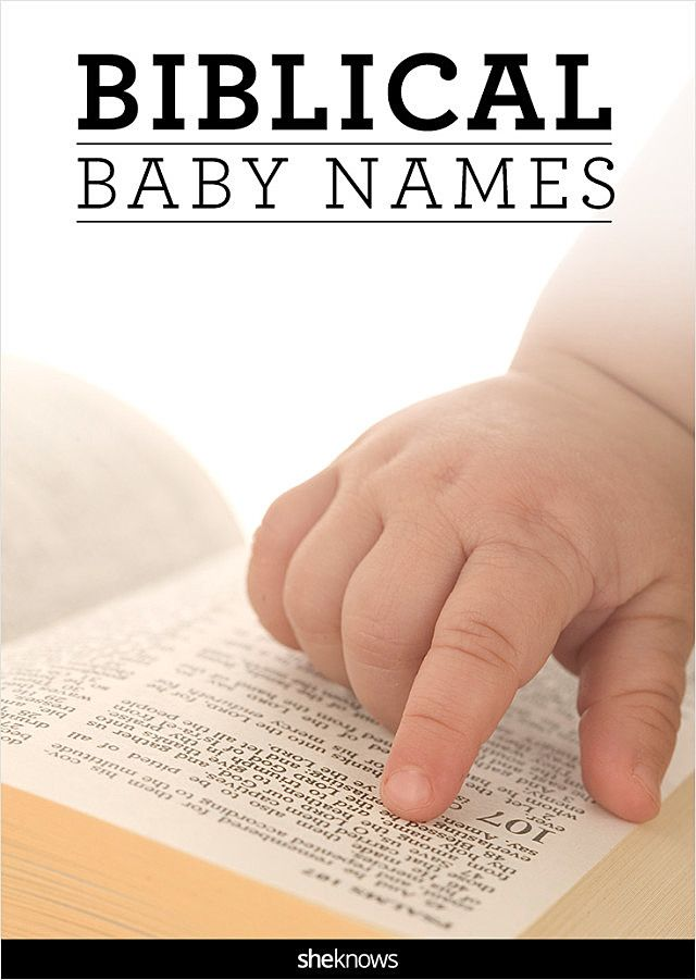 These baby names from the Bible carry a deeper meaning