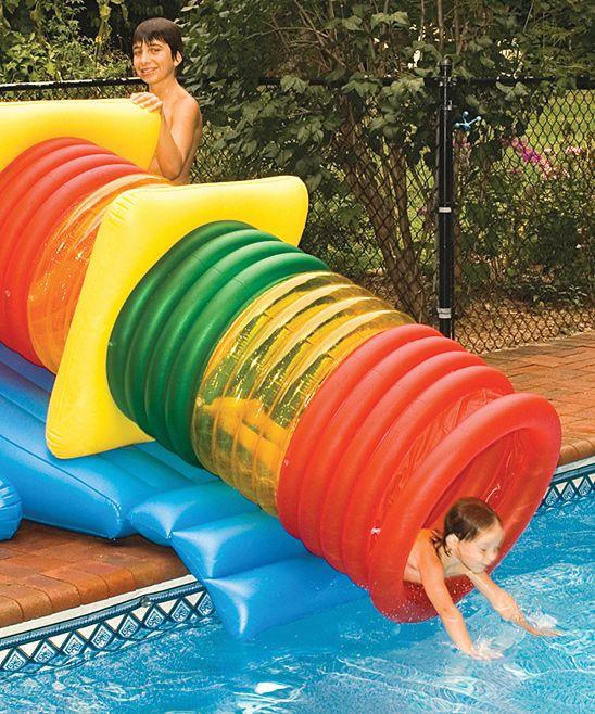Habitat Maze Play System Water Park Slide Set Swimming Pool Slides Swimming Pool Toys Inflatable Swimming Pool