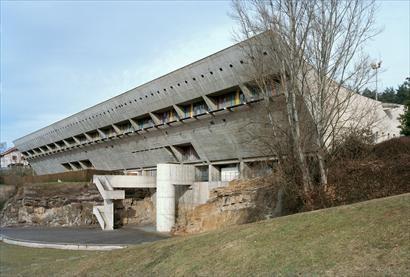 Maison de la Culture, Firminy, France, 1956 | Le Corbusier ...