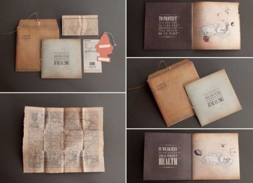 wedding invitations with a cute map