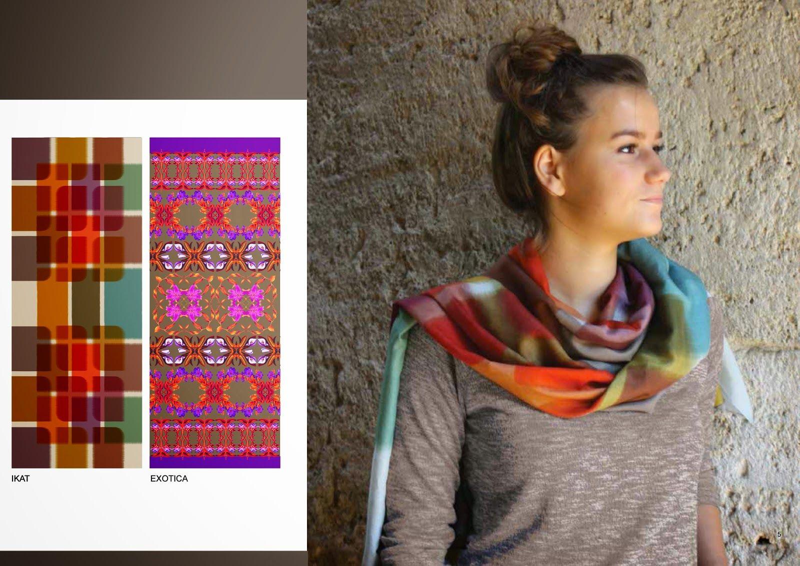 Claudine VerdoT:  Et 2 nouvelles écharpes dans la collection Bontem...