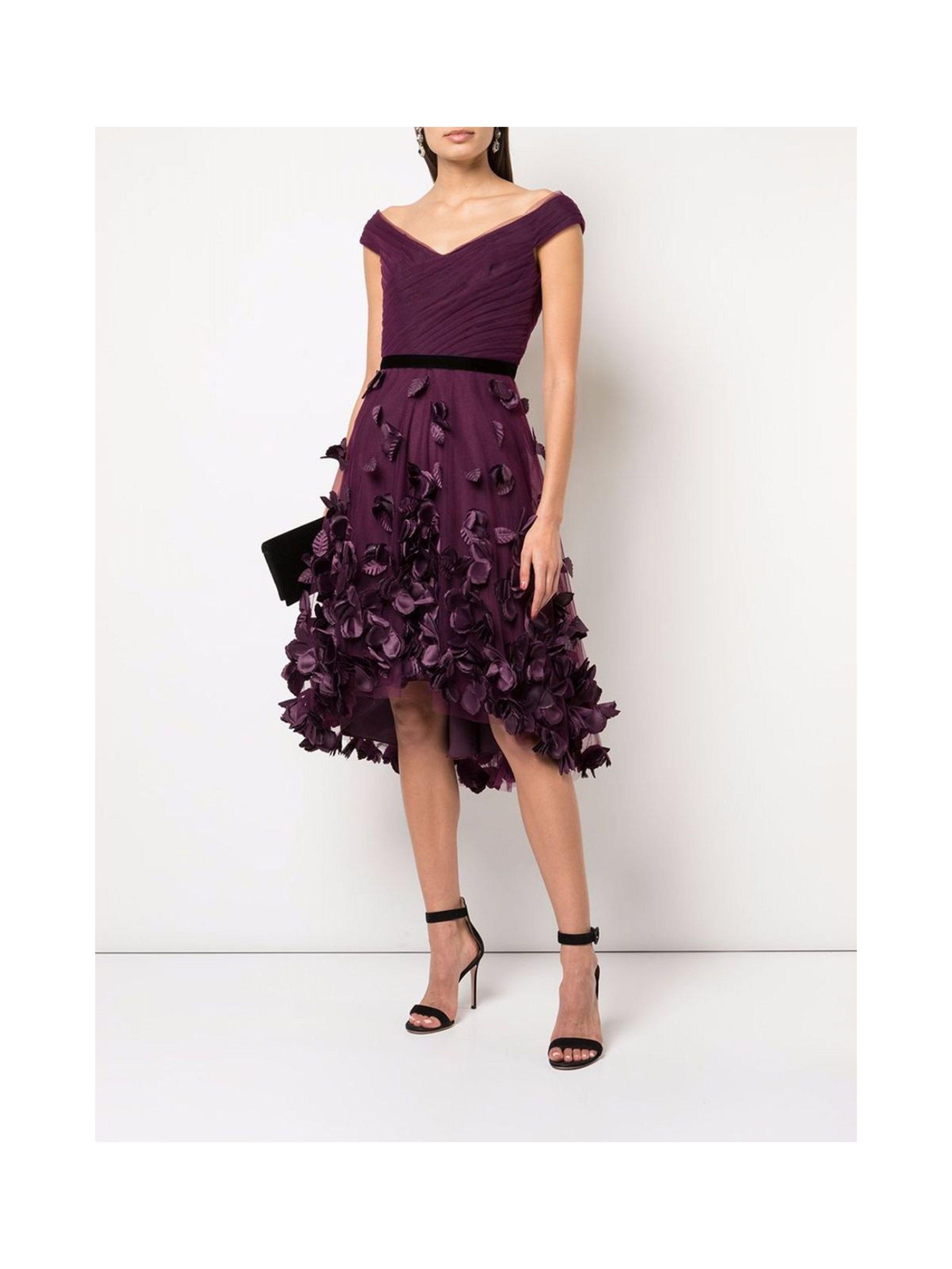 Marchesa Notte Draped 3d Floral Cocktail Dress In 2021 Fancy Cocktail Dresses Floral Cocktail Dress Cocktail Dress [ 4000 x 3000 Pixel ]