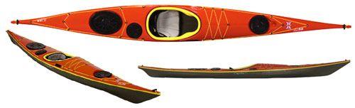 My sea kayak, but she paddles so beautifully on lakes too.