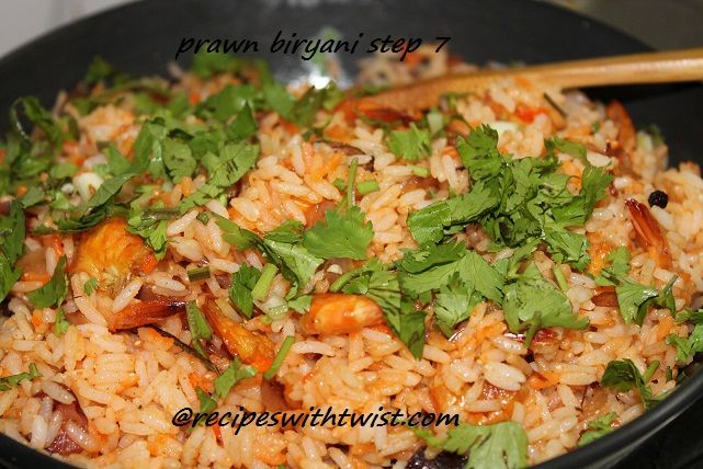 Indian Food Recipes | prawn biryani is one of the best indian sea food recipe which is loved ...