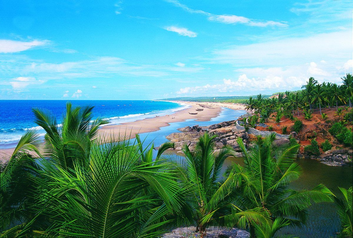 Beautiful Kerala Scenery Beach Wallpaper In Hd 3d Drawings