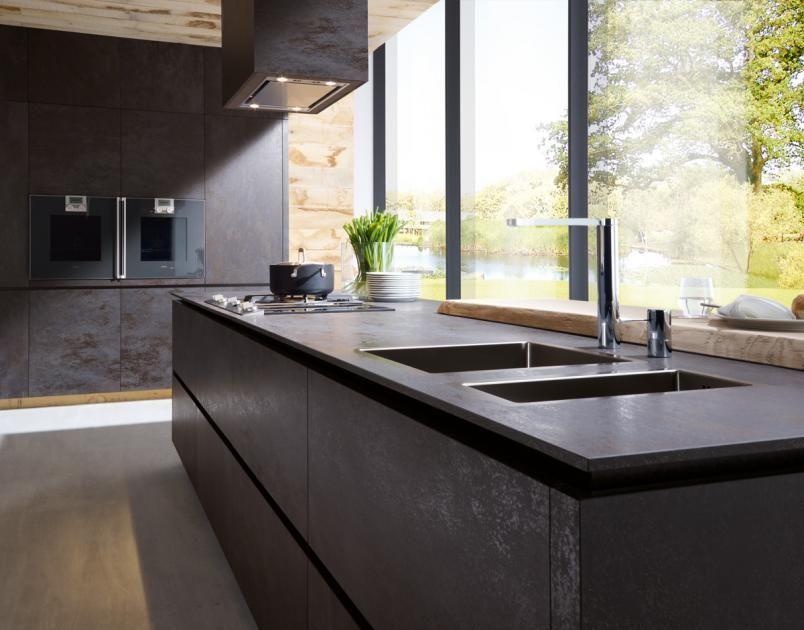 Arbeitsplatten für die Küche - Aus Holz, Naturstein und Keramik - küchenarbeitsplatte aus granit