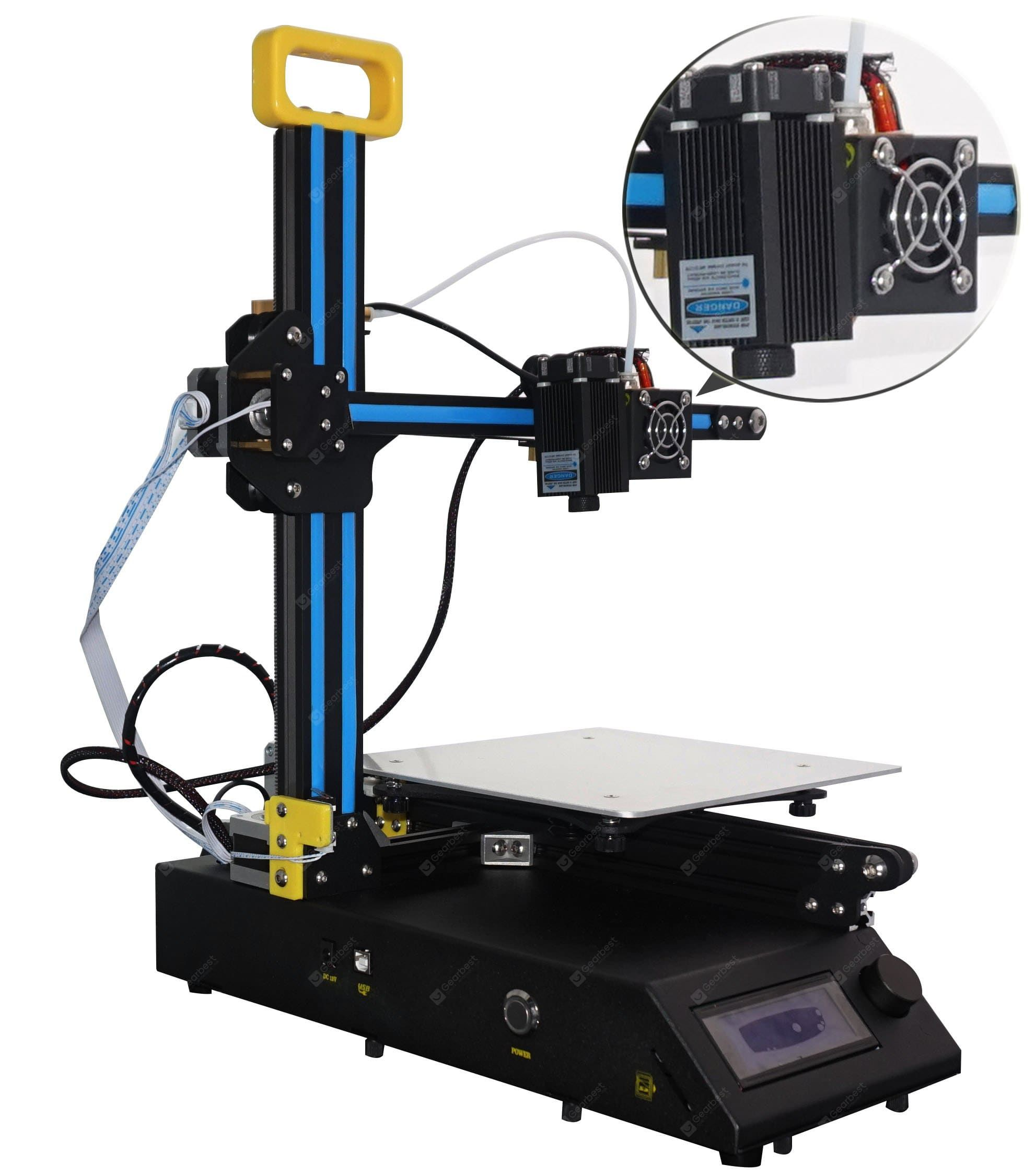 Creality3d Cr 8 2 In 1 Laser Engraving 3d Printer Gearbest Mobile 3d Printer Kit Multifunction Printer Printer
