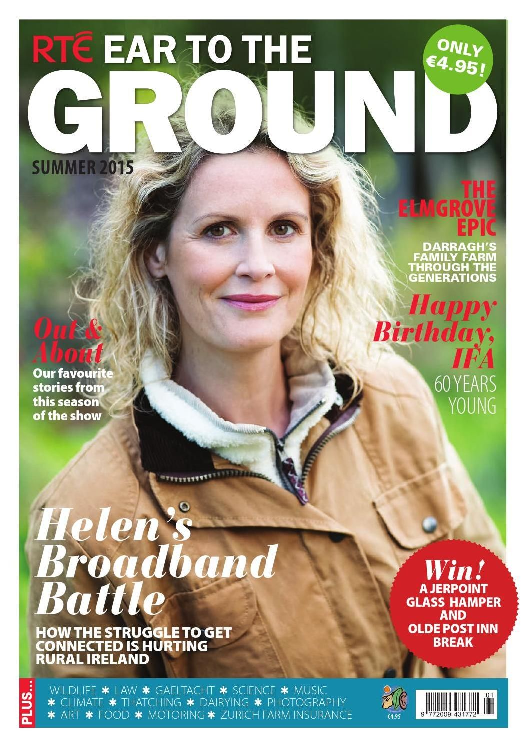 Ear To The Ground Summer 2015 Summer 2015 Magazine Cover Design Summer