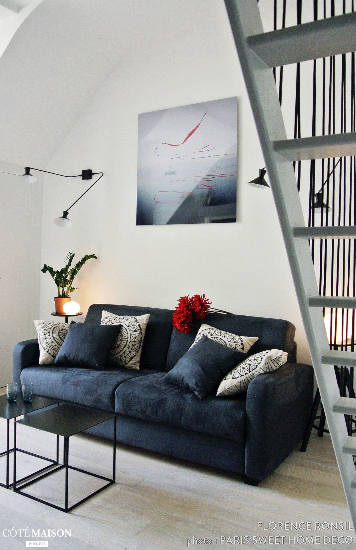 R novatio d 39 un petit studio parisien paris florence - Architecte interieur paris petite surface ...