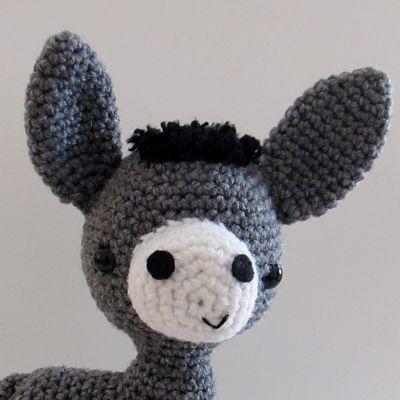 NEW Amigurumi Donkey crochet pattern  PDF Digital by anapaulaoli, $3.00