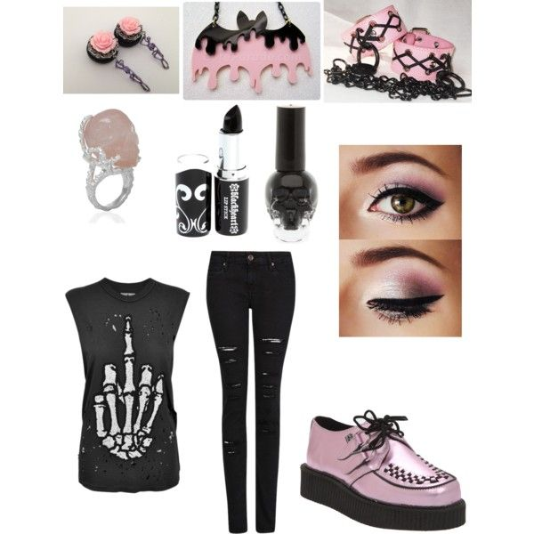 Vampira Tattoo Pastel Goth Fashion | ...