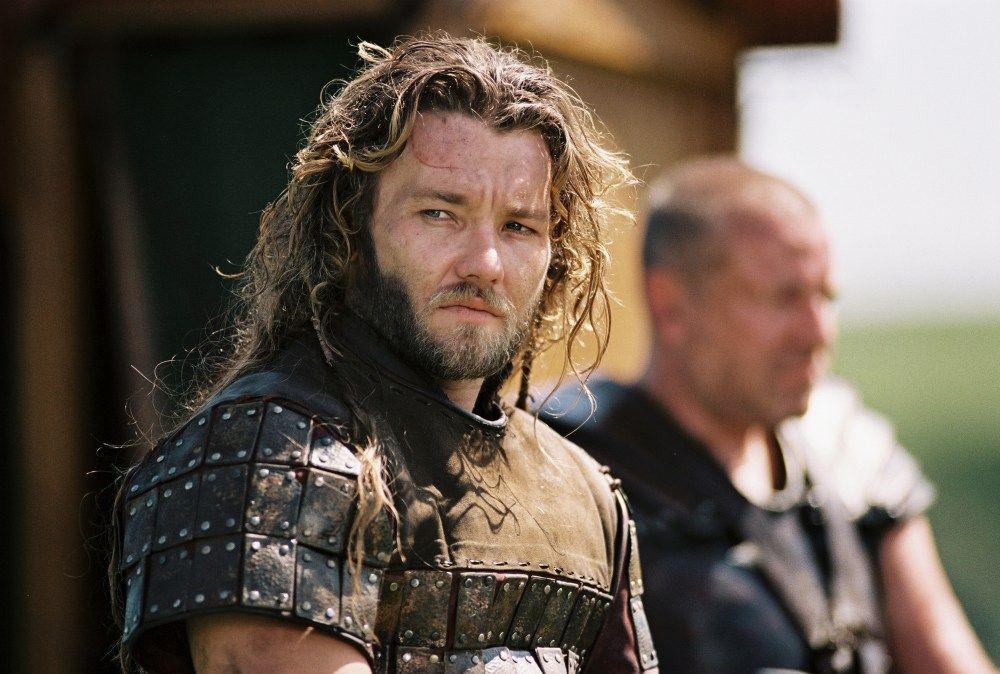 Joel Edgerton as Gawain, in King Arthur (2004)