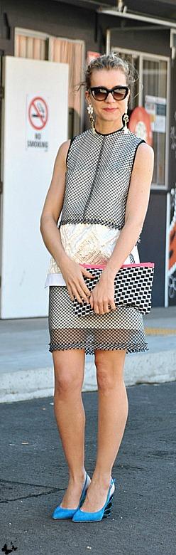 too much - Mercedes-Benz Fashion Week Australia \ Street style <3 na