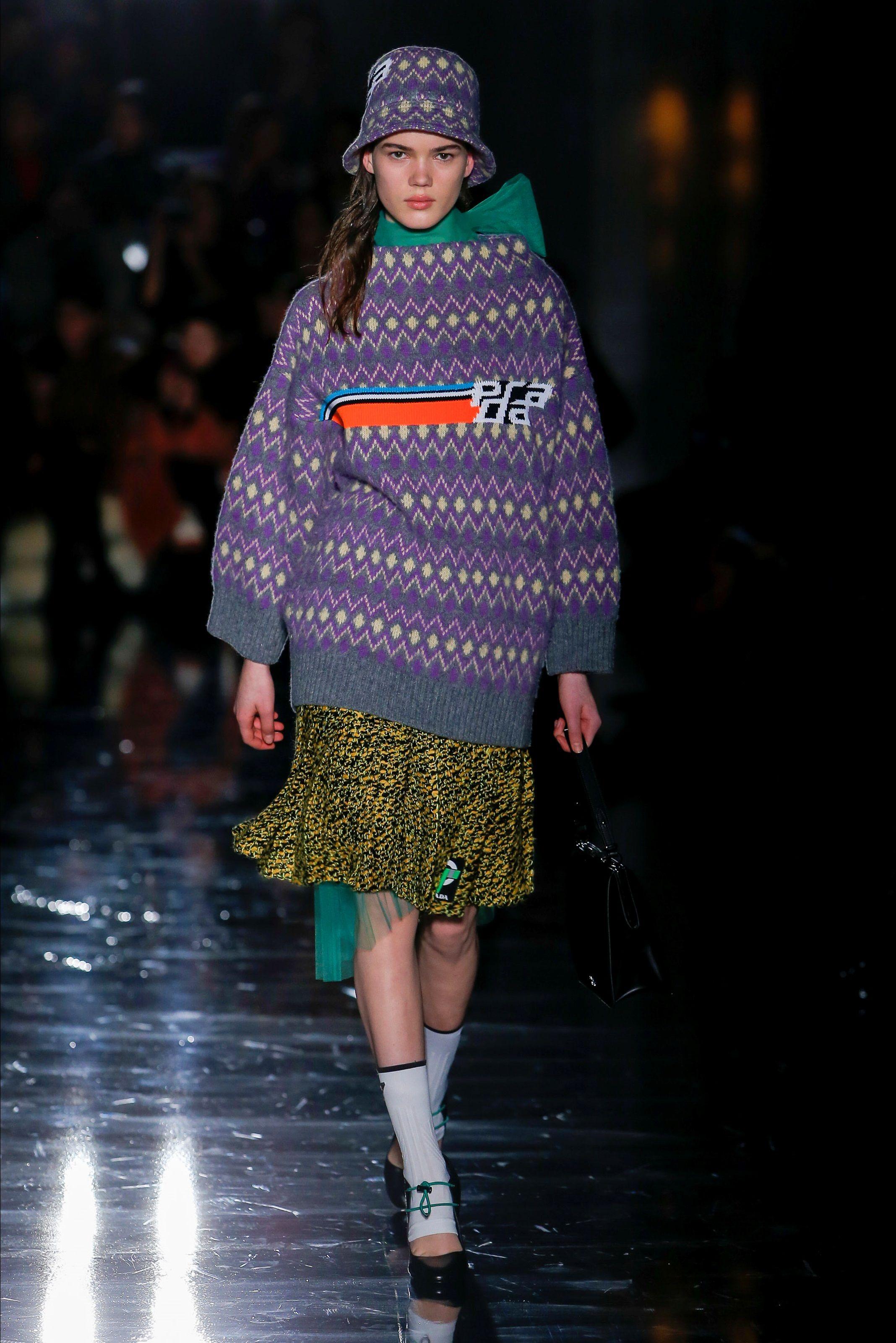 Milano Collezioni Vogue Inverno 2018 Prada Autunno Sfilata 19 lJcFK1