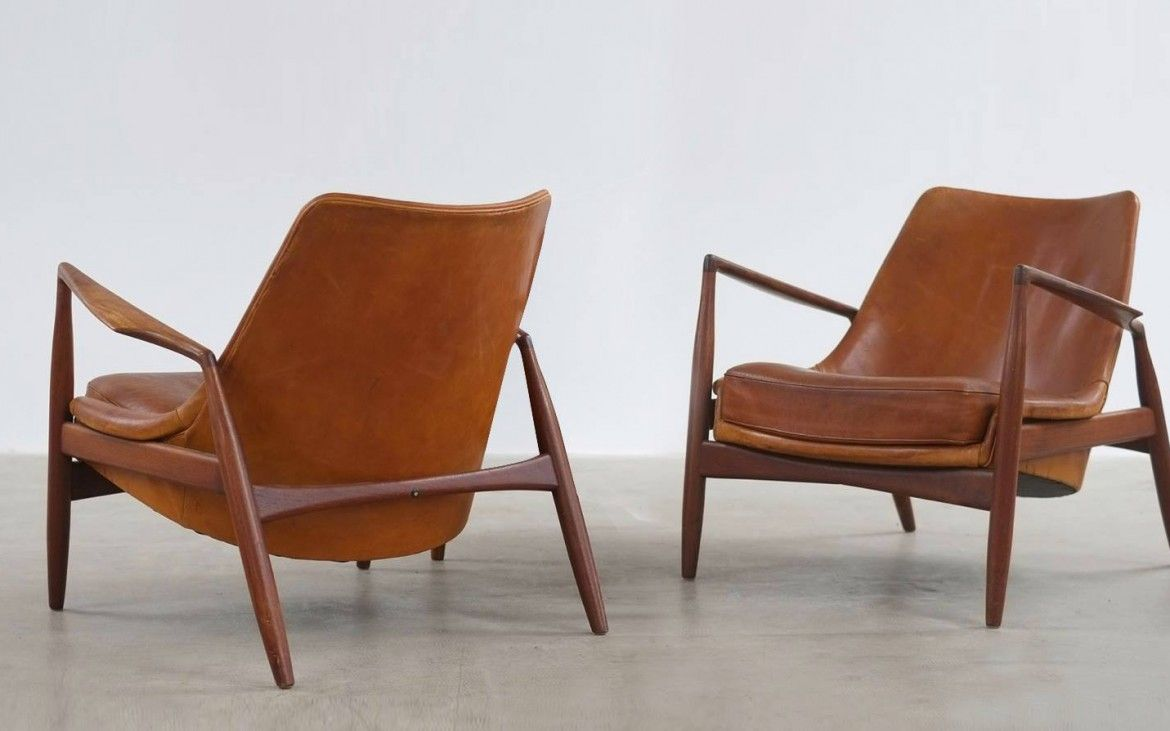 ib kofod larsen salen seal chair olof 60s is part of Furniture design modern -