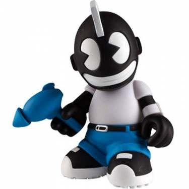 Kidrobot Kid Neutron 8 Inch Figure (black) - $29.99