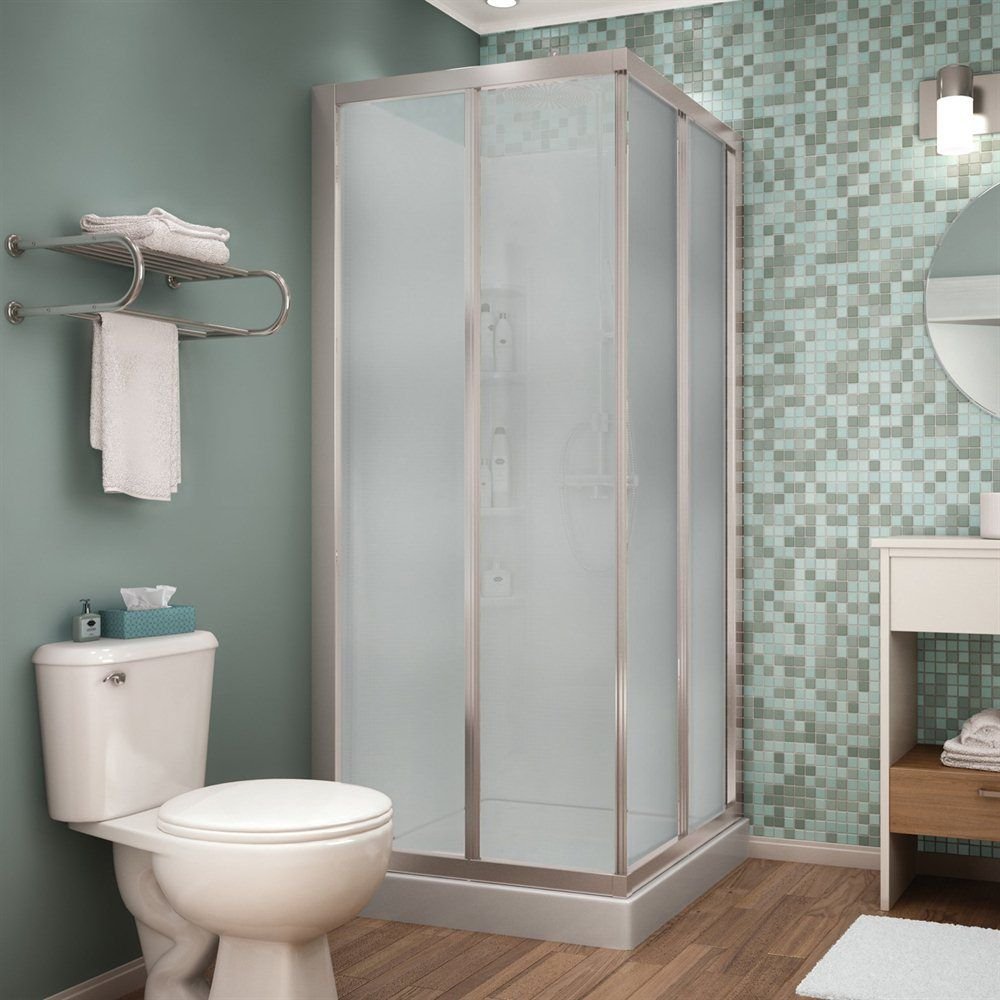 Maax 105605 000 129 104 maax shower solution mediterranean for Bathroom ideas at lowes