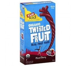 Clif Bar Kid Zfruit - Organic Mix Berry - Case of 36 - .7 oz   ecolifestylekids.com