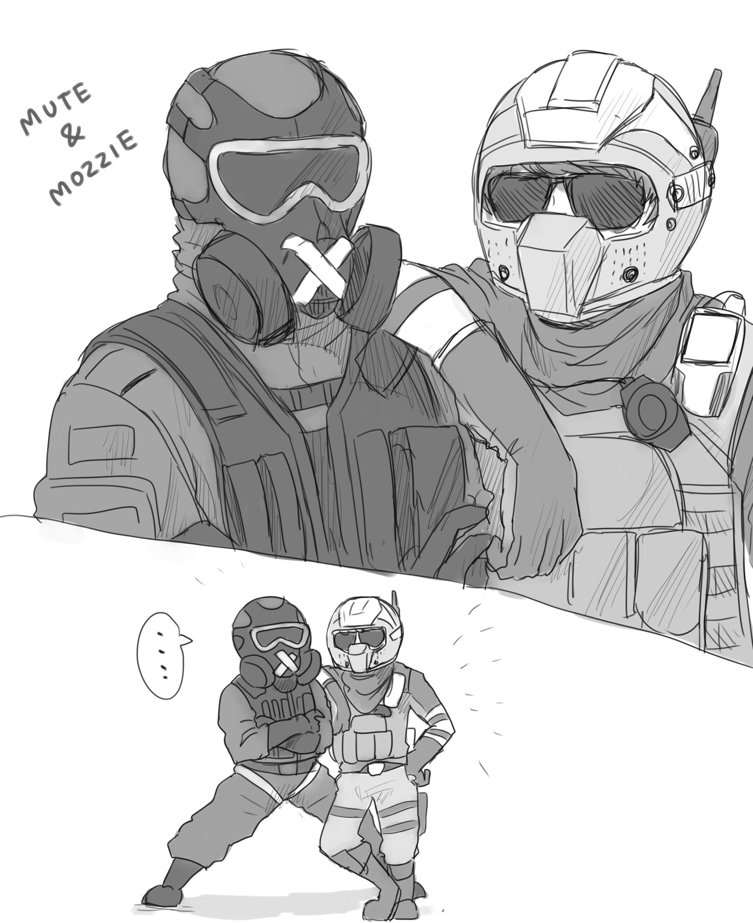 Pin By Marisa Malaruk On R6s With Images Rainbow Six Siege Art