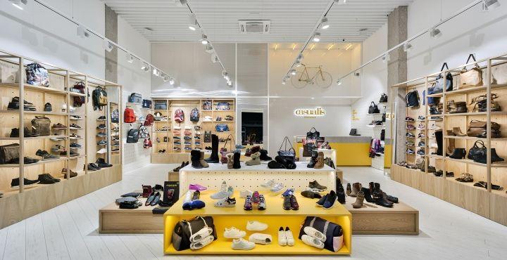 Shoe store design, Retail design