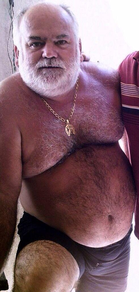 Bear chubby find gay man older