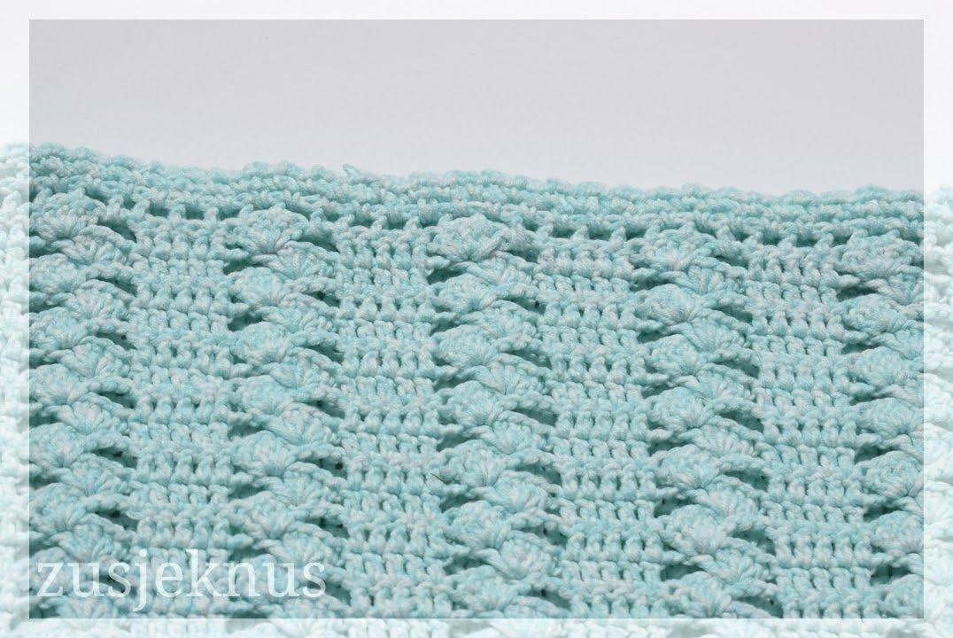 gratis patroon gehaakt deken, free pattern crochet blanket   Crochet ...