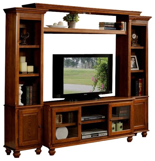 10 Remarkable Oak Entertainment Wall Units Ideas Image