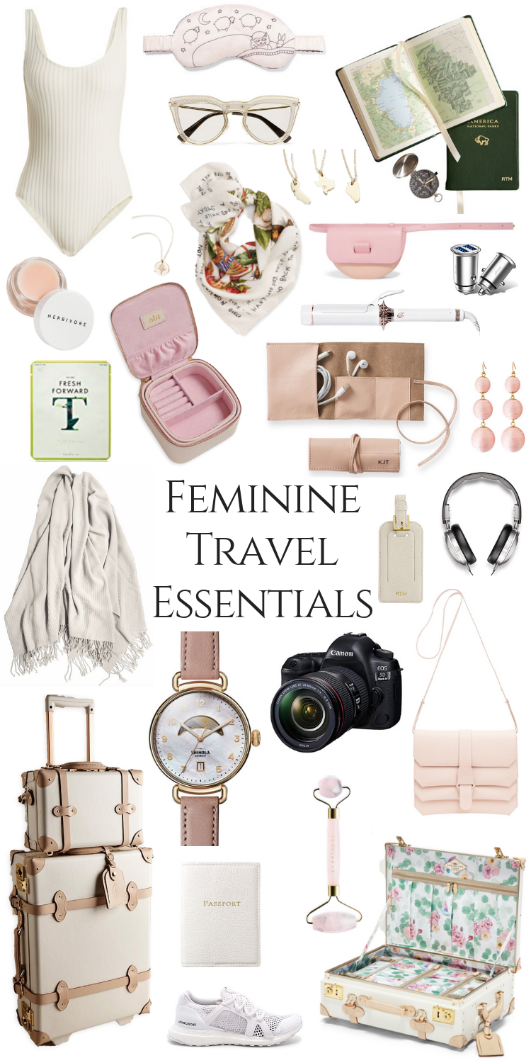 My Feminine Travel Essentials - Annie Fairfax