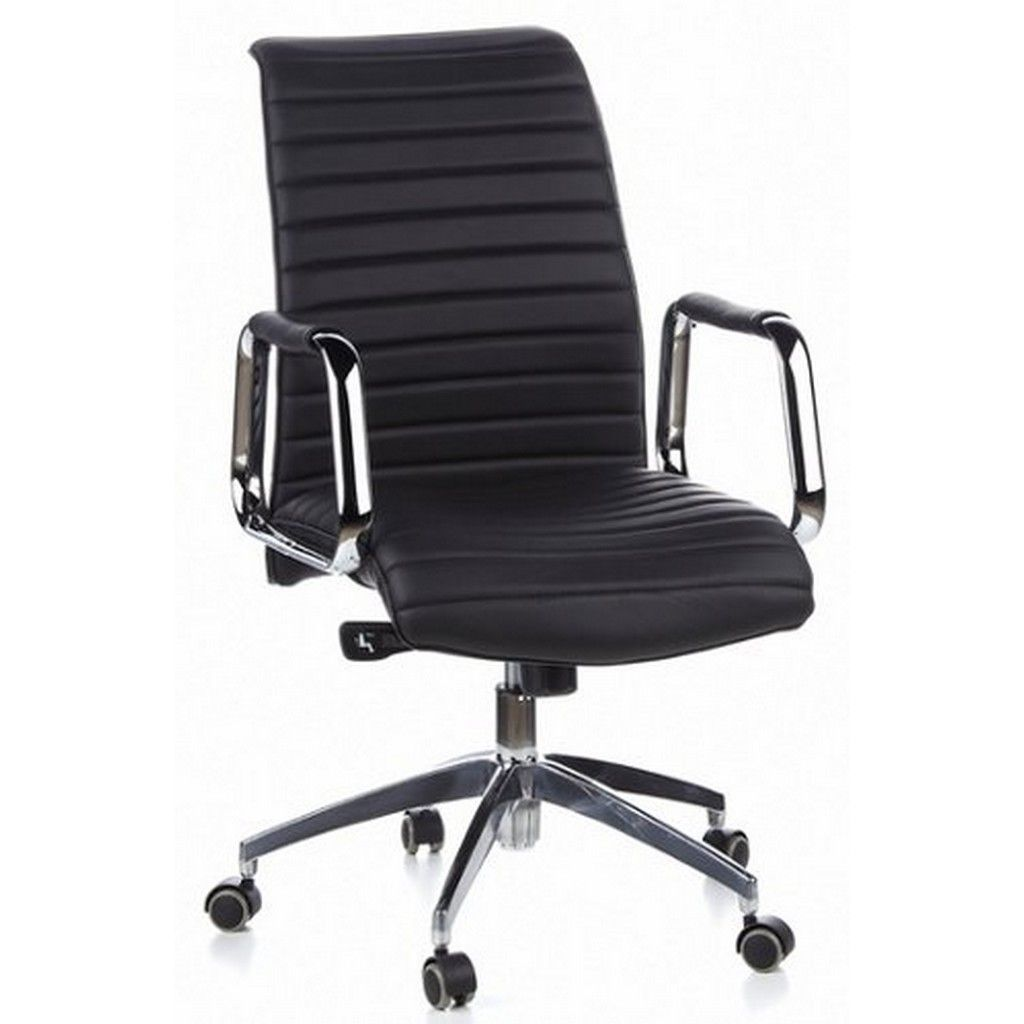 Ein schwarzer Bürostuhl http://www.bueromoebel-experte.de ...