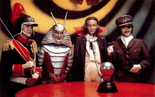 The villains . . . all class!